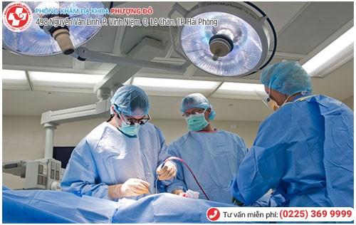 Phẫu thuật mổ cắt cổ tử cung tại Đa Khoa Phượng Đỏ