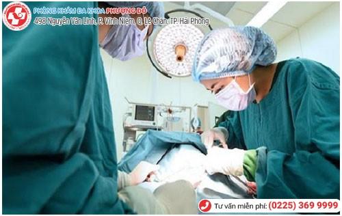 Phẫu thuật vá màng trinh thẩm mỹ tại Đa Khoa Phượng Đỏ
