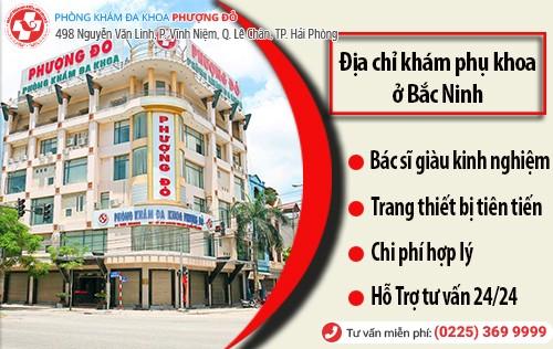 phòng khám phụ khoa ở Bắc Ninh