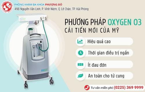 Công nghệ Oxygen O3 chữa khí hư sủi bọt hiệu quả