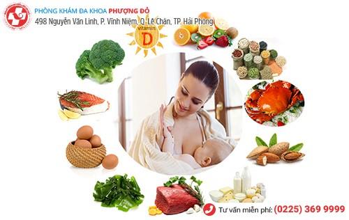 Chị em nên đảm bảo có chế độ ăn uống khoa học để hồi phục sức khỏe