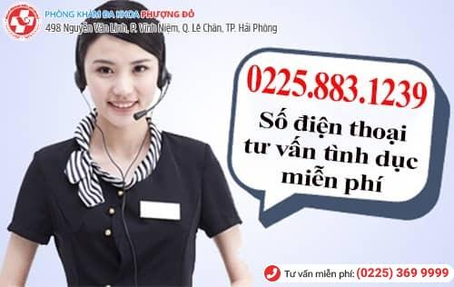 số điện thoại tư vấn tình dục