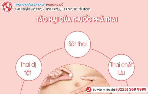 tác hại của thuốc phá thai