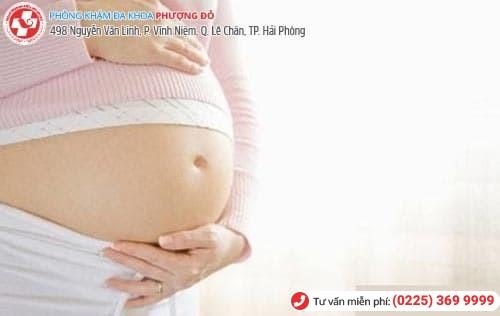 thai chưa vào tử cung
