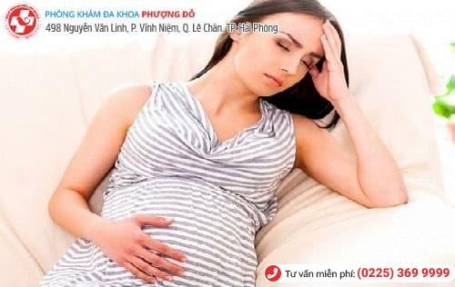 đặt thuốc phụ khoa khi mang thai