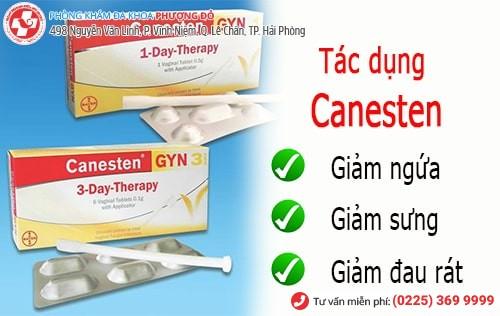 thuốc trị nấm phụ khoa canesten