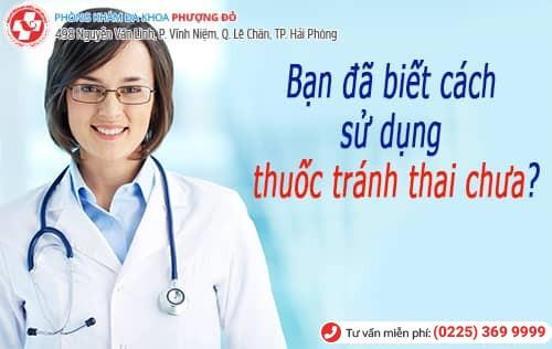 sai lầm khi tránh thai bằng thuốc