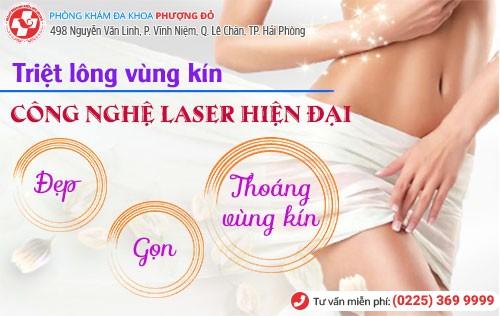 Triệt lông vùng kín bằng công nghệ Laser