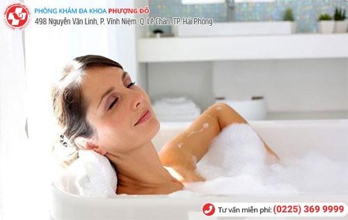 Vệ sinh sạch sẽ ngăn ngừa viêm ngứa phụ khoa