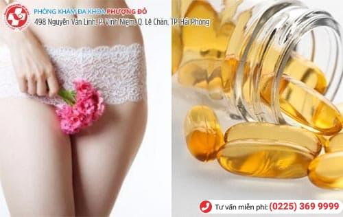 Vitamin e bôi vùng kín