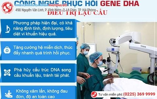 Áp dụng phương pháp DHA tiên tiến vào trong việc hỗ trợ điều trị bệnh lậu