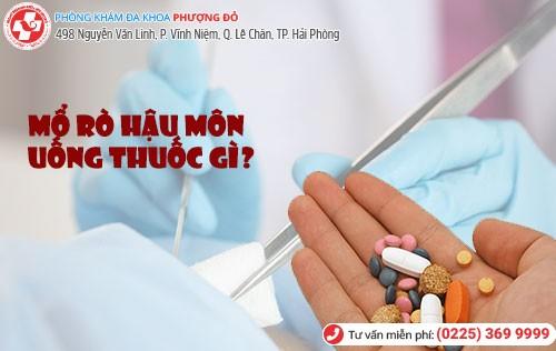 rò hậu môn uống thuốc gì