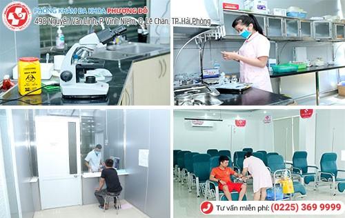 Phòng chuẩn đoán xét nghiệm đạt tiêu chuẩn quốc tế
