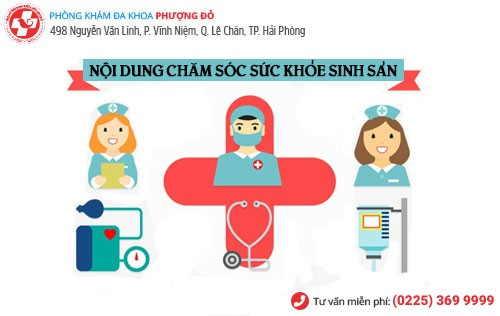 Nội dung chăm sóc sức khỏe sinh sản
