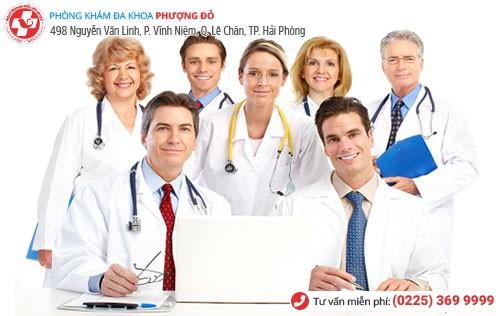 Đa Khoa Phượng Đỏ sở hữu đội ngũ y bác sĩ giàu kinh nghiệm