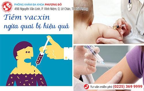 Tiêm vacxin phòng ngừa quai bị