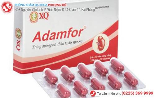 Thuốc điều trị xuất tinh sớm Adamfor đang được sử dụng rộng rãi trên thị trường